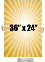 "36"" x 24"" Full Color Yard Sign - 1 Sided - 36"" x 24"" Full Color Yard Sign - 1 Sided"